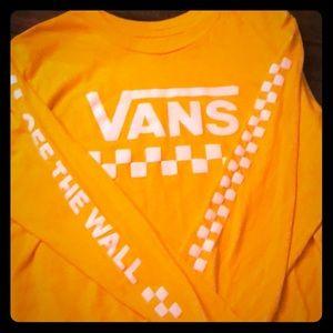 Vans crop top